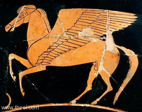 ancient greek horse