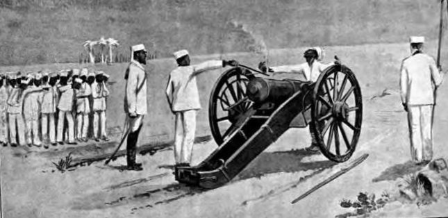 Modern electric chair execution - Execution By Cannon Beachcombing S Bizarre History Blog