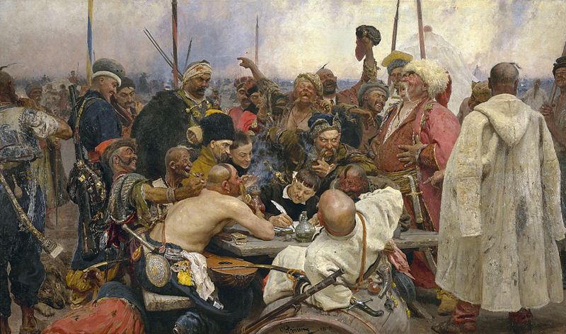 [Image: The-Zaporozhye-Cossacks-Replying-to-the-Sultan.jpg]