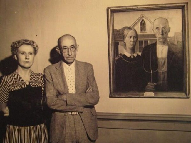 American Gothic And The Models