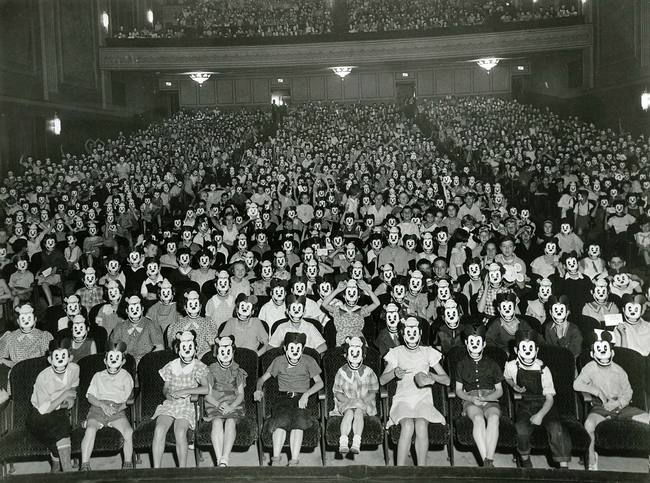 mickey mouse club meeting 1930s