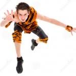 Jumping Wild Men