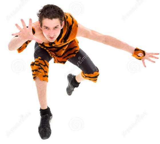 wild man jumper