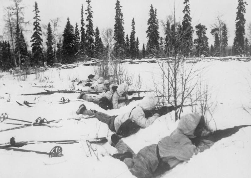 finnish ski troops in the winter war