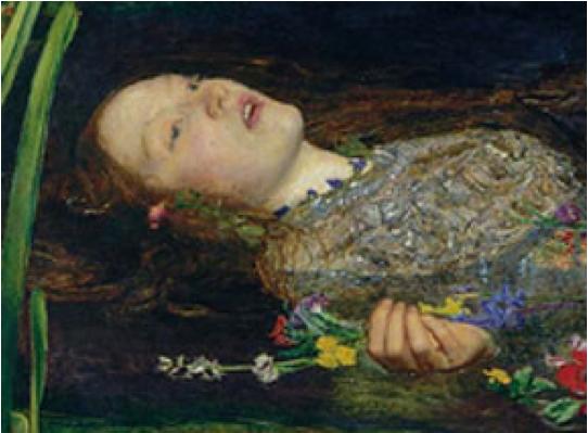 Ophelia Hamlet: Ophelia, Shards And Suicides