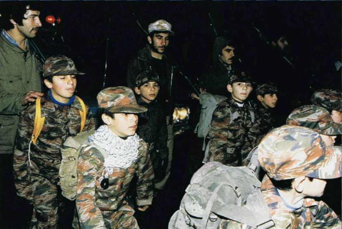 the issue of the use of child soldiers by the islamic state