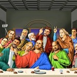 Daily History Picture: Last Supper Selfie