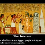 Daily History Picture: Ancient Egyptian Internet