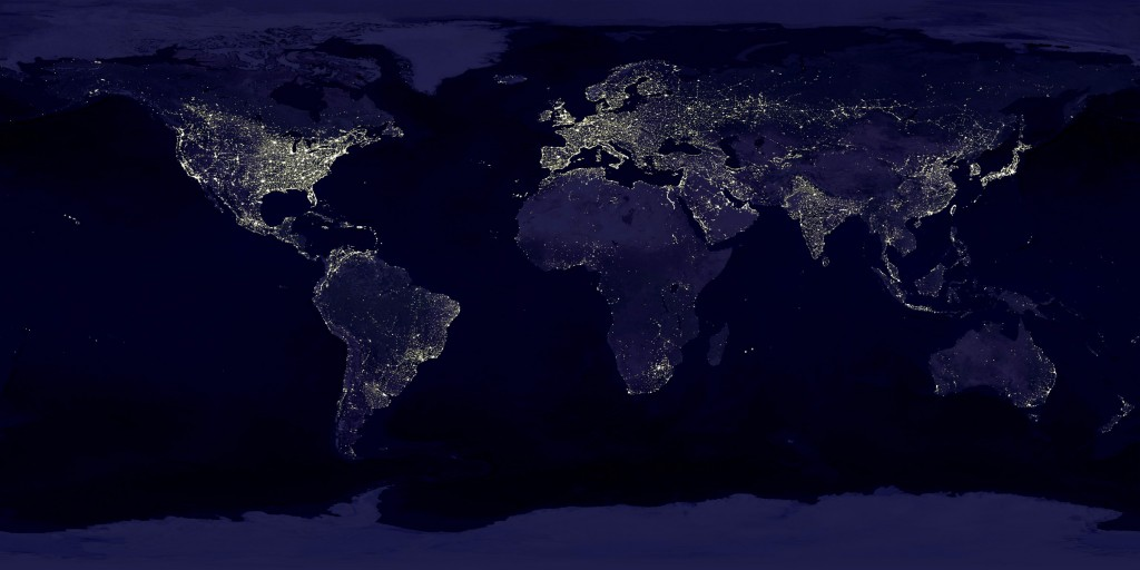 world at space