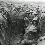 Daily History Picture: Waiting in the Trenches