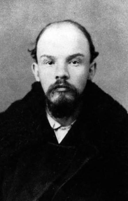 lenin aged 25, 1895