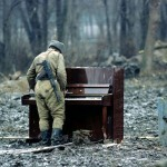 Daily History Picture: Russian Soldier Plays Piano