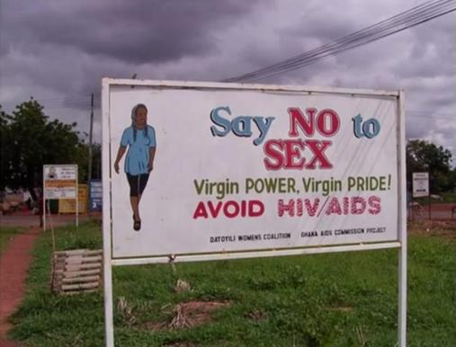 say no to sex, ghana