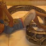 Baby Loving Snakes