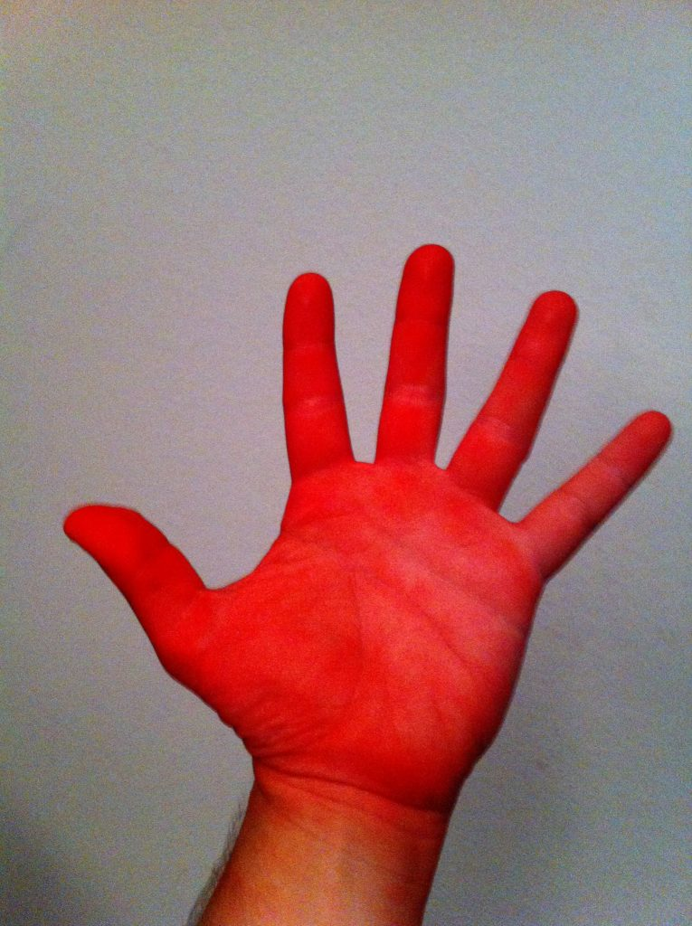 red hand horror