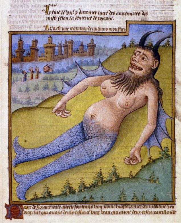 sea monster le mirroir du monde mid 15 cent