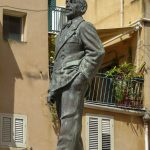 The Pirandello-Lenin Statue
