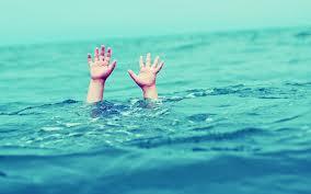 drown swimming pool