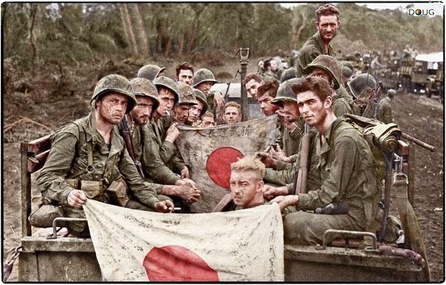1-marine-division-japanese-battle-flags-14-jan-1944-battle-cape-gloucester