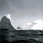Ship on Top of Iceberg!