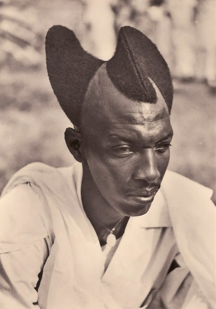 Daily History Picture: Unusual African Hairstyle