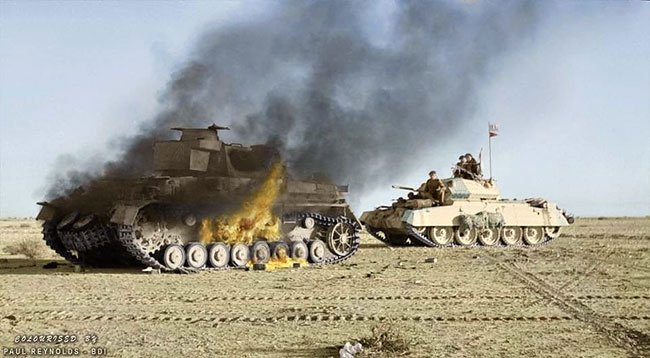 Daily History Picture: Tank Battle