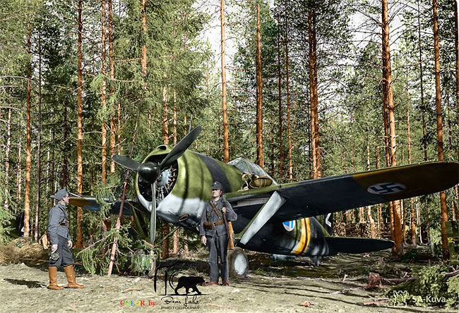 Daily History Picture: Finnish Plane
