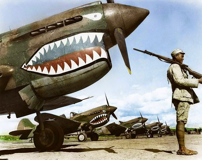 Daily History Picture: Flying Tigers