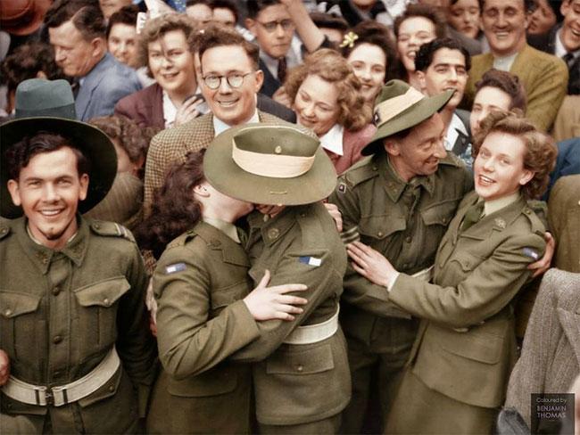 Daily History Picture: Australia Celebrates