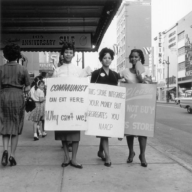 Daily History Picture: Civil Rights Protest