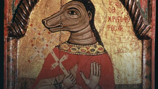 Daily History Picture: St Christopher as Dog Head