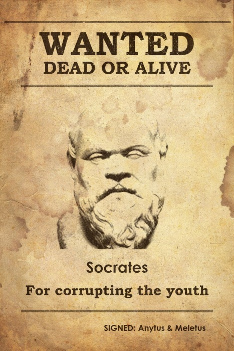 Daily History Picture: Socrates Criminal