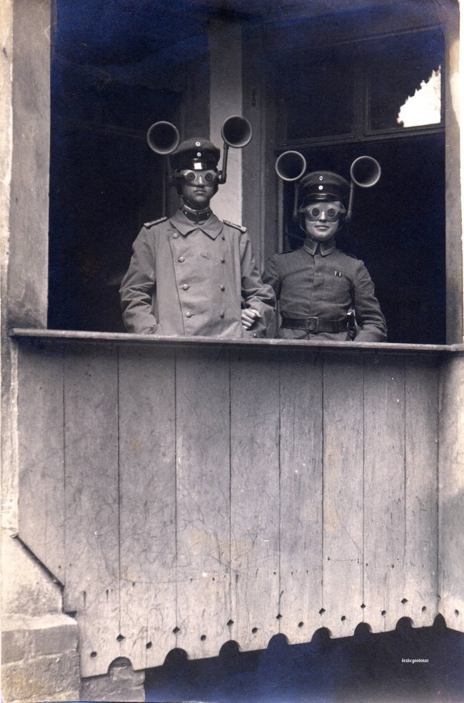 Daily History Picture: Sound Finders