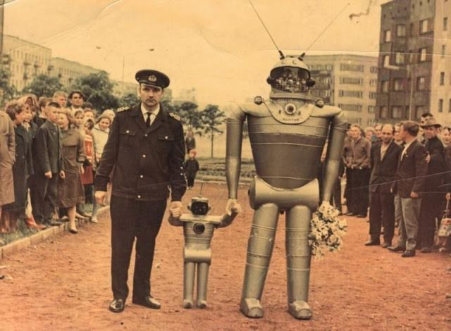 Daily History Picture: Soviet Robots