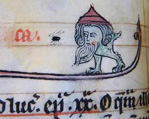 Daily History Picture: Manuscript Blob