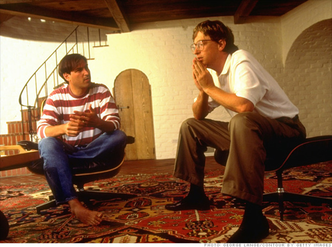 Daily History Picture: Steve Jobs and Bill Gates