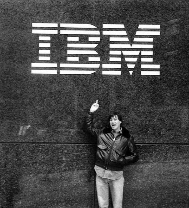 Daily History Picture: Steve Jobs and IBM