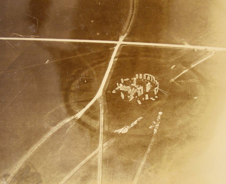 Daily History Picture: Stonehenge from the Air