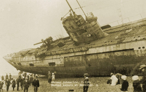 Daily History Picture: German Uboat at Hastings
