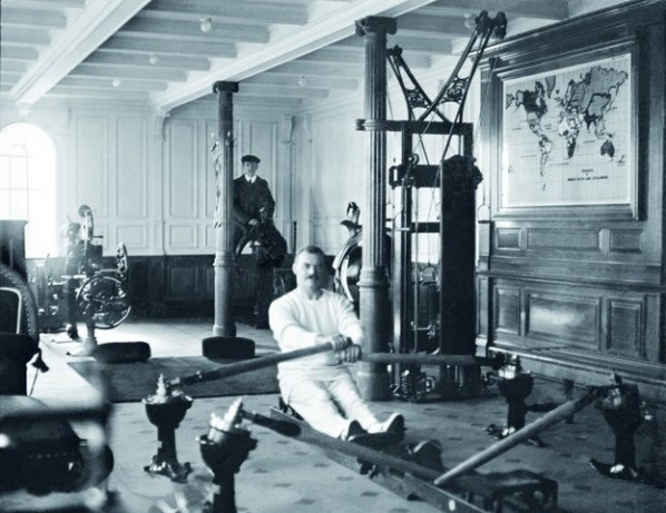 Daily History Picture: Keeping Fit on the Titanic