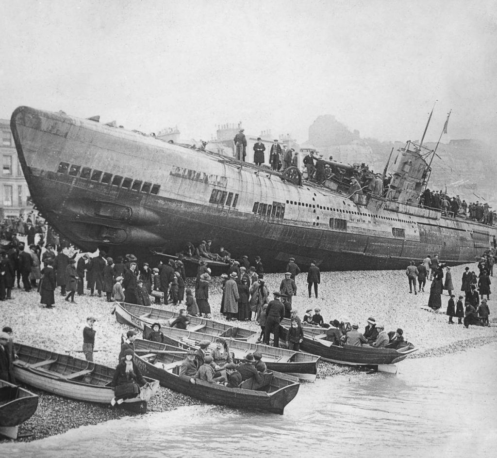 Daily History Picture: German Uboat on a British Beach