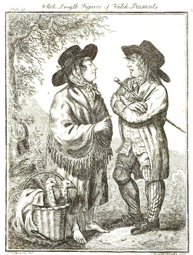 Daily History Picture: Welsh Peasants
