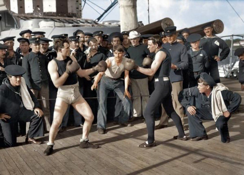 Daily History Picture: Boxing