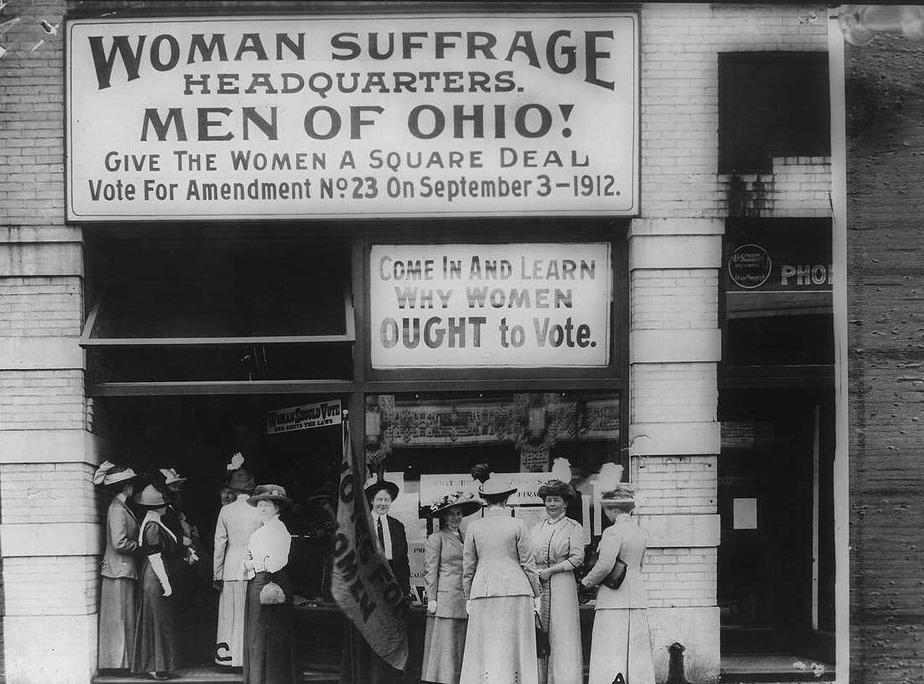 Daily History Picture: Suffrage in Ohio