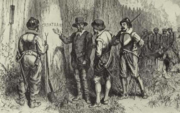 Daily History Picture: In Search of Roanoke