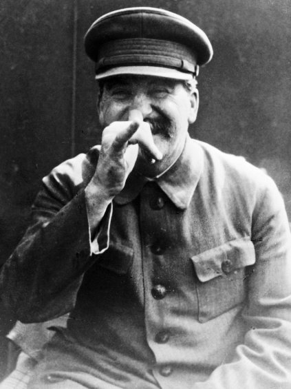 Daily History Picture: Funny Face Stalin