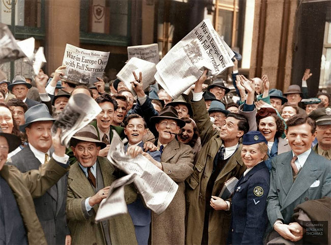 Daily History Picture: VE Day