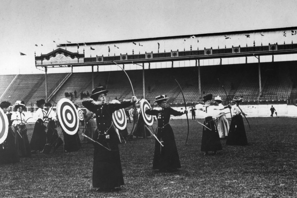 Daily History Picture: Olympic Archery