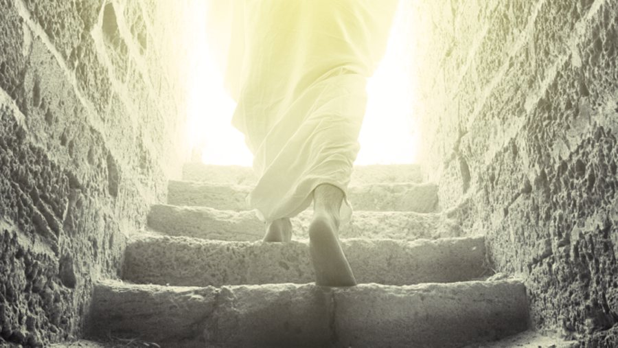 """should the reserection of jesus be Did jesus literally come back from the dead in a bodily resurrection,  """"we tack it on to the end of everything and that is not what it should be."""