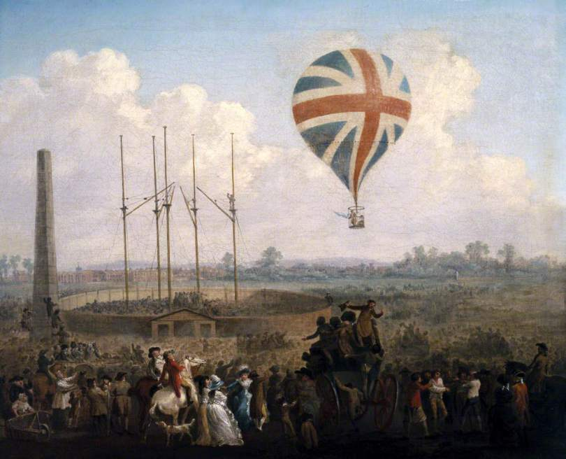 Daily History Picture: British Balloon